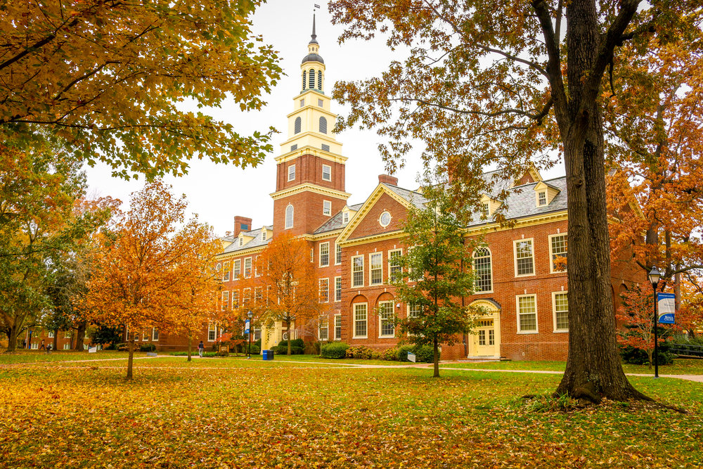 Berea College Kentucky KY campus fall autumn