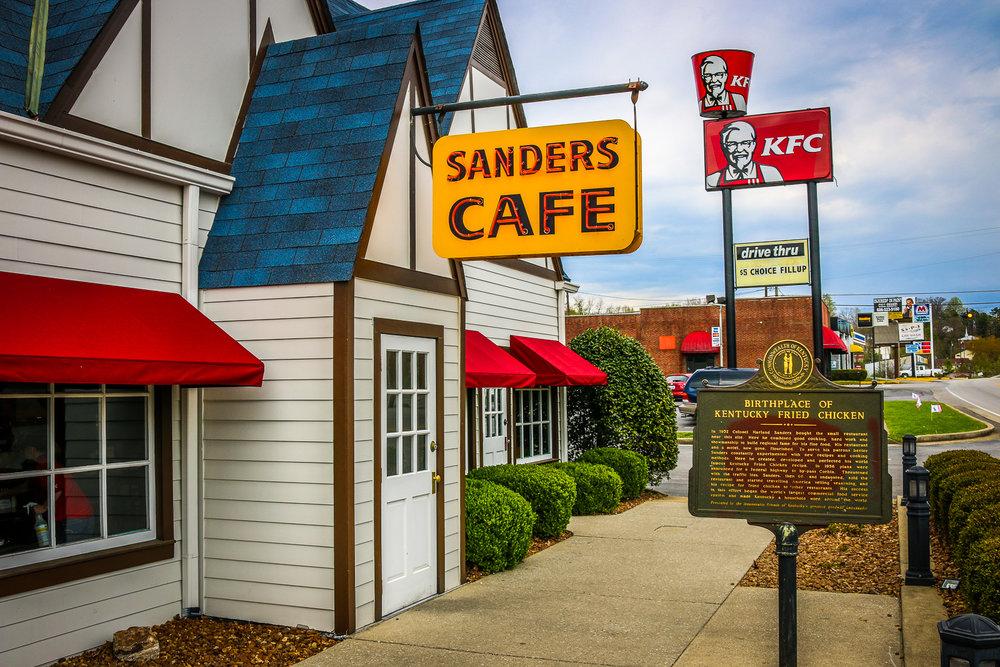 Sanders Cafe in Corbin