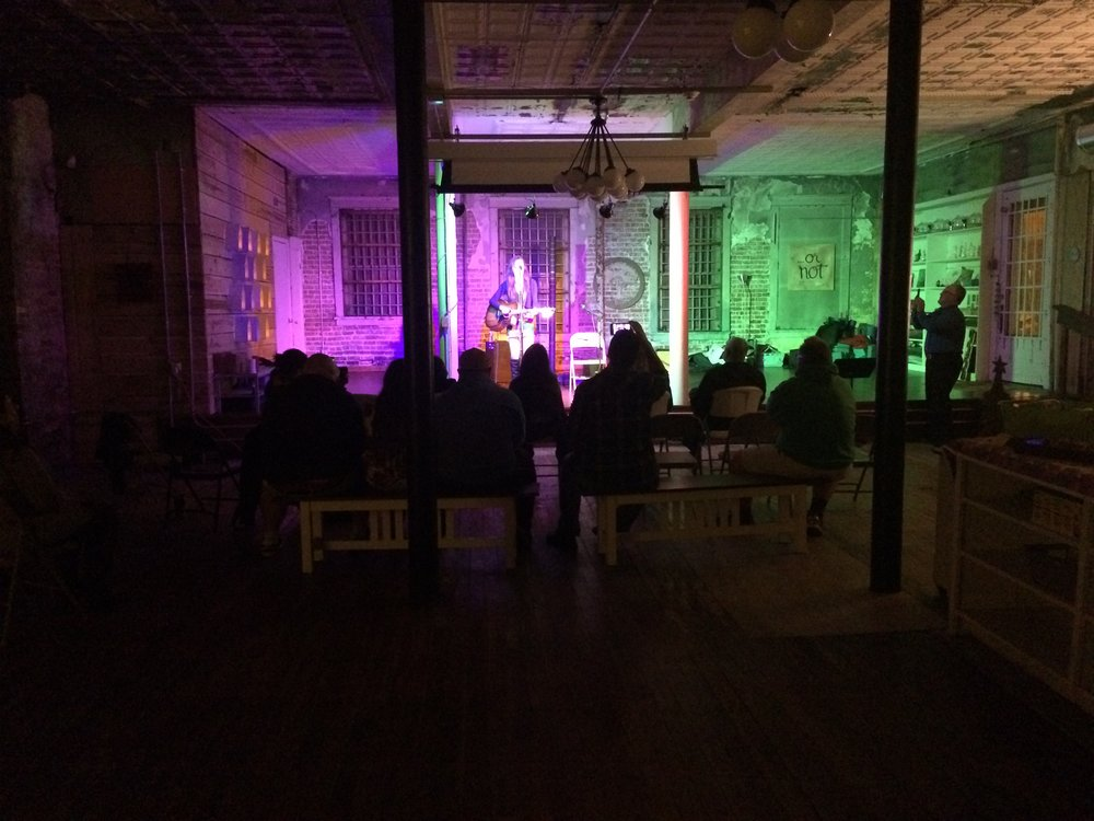 Open Mic Night at the Yoga Studio