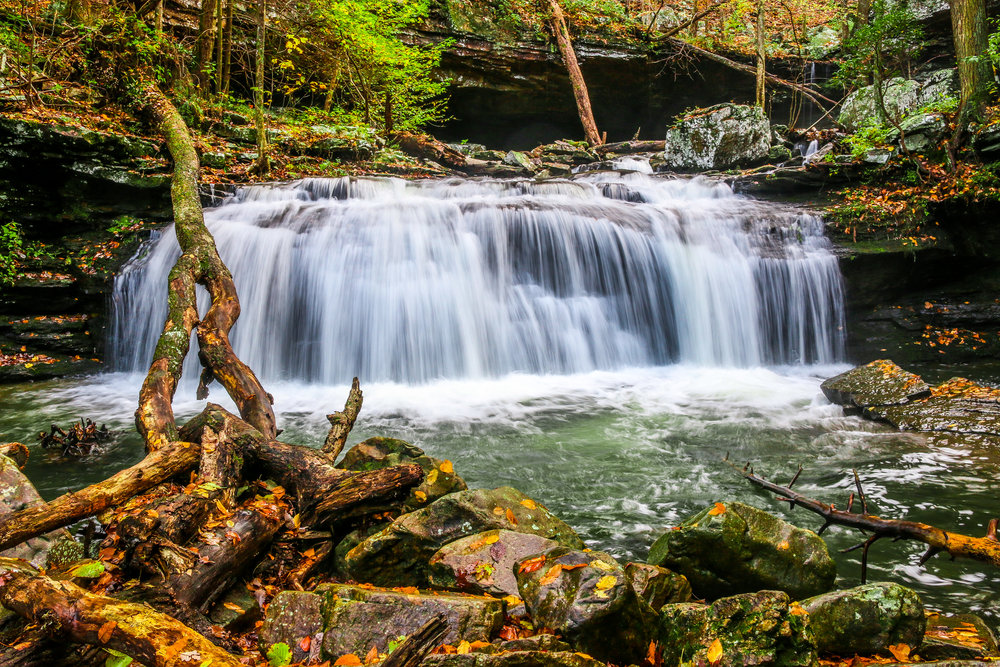 Waterfall in Cloudland Canyon