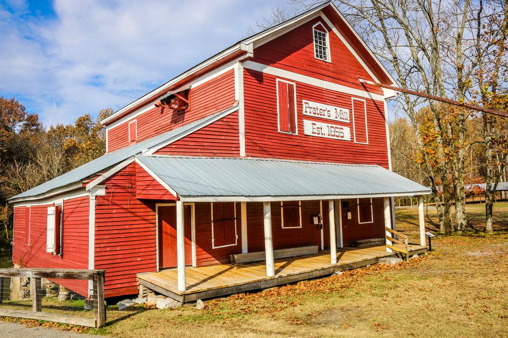 Prater's Mill Outside Dalton