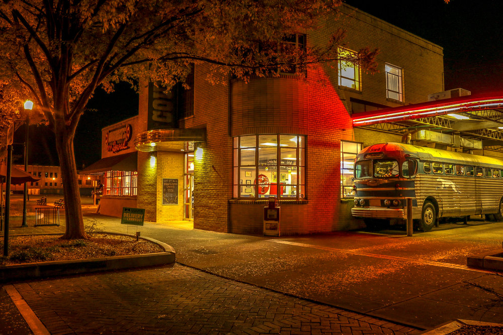 Country Barbecue - Such a Cool Re-Purposing of the Old Greyhound Station