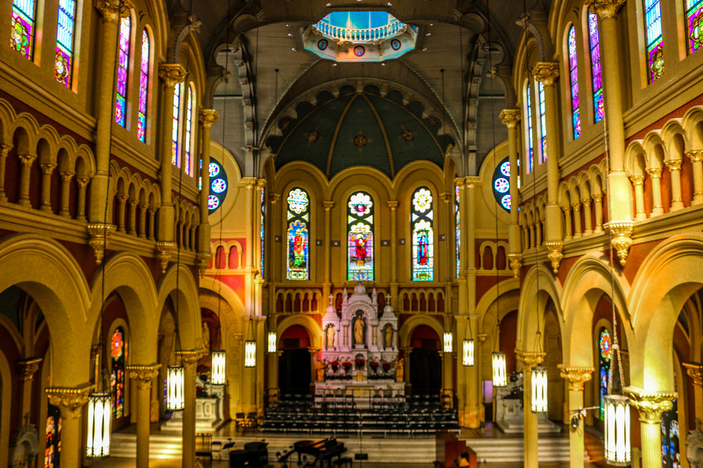 Inside Sacred Heart
