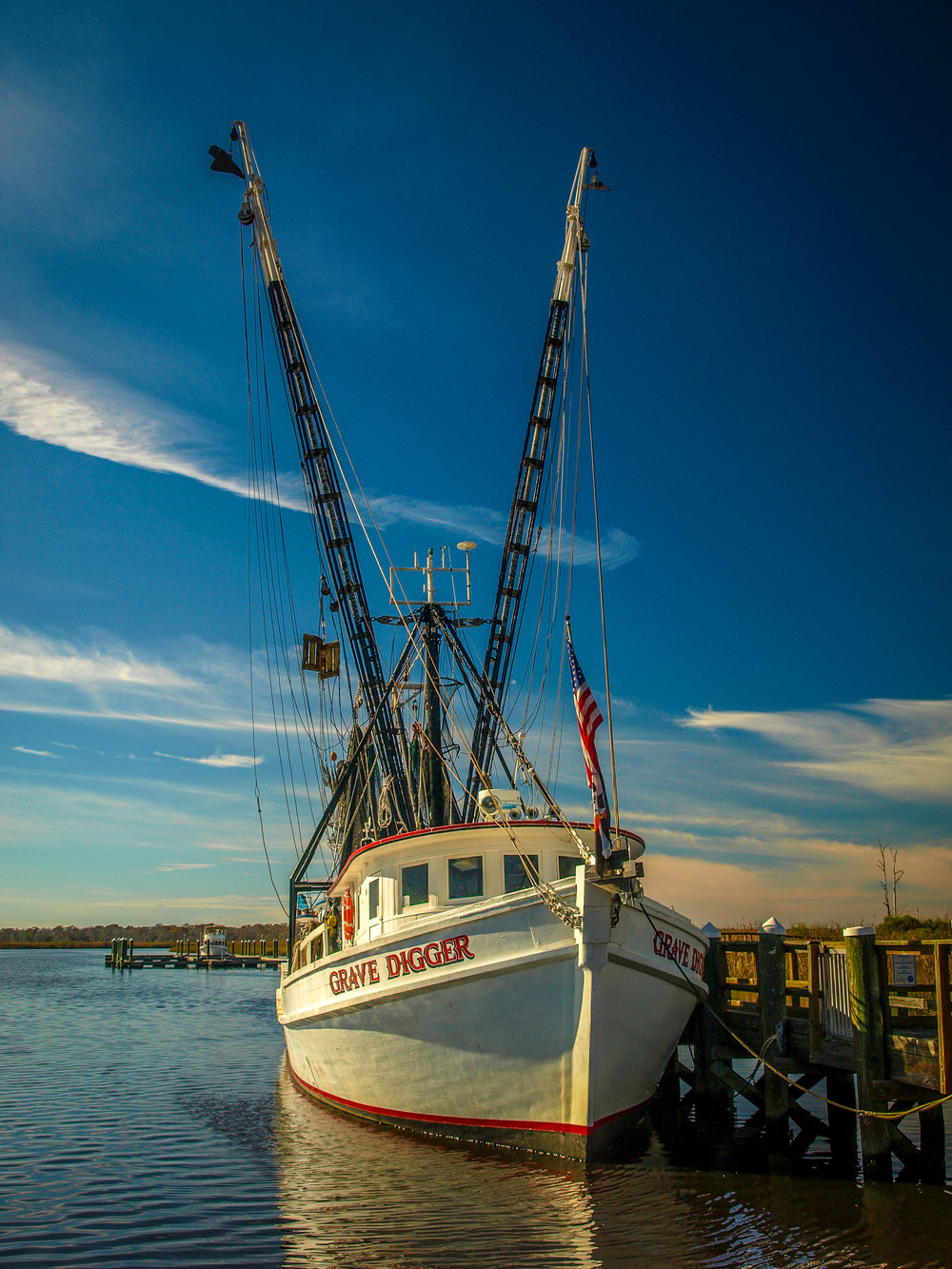 Shrimp Boat in Dock