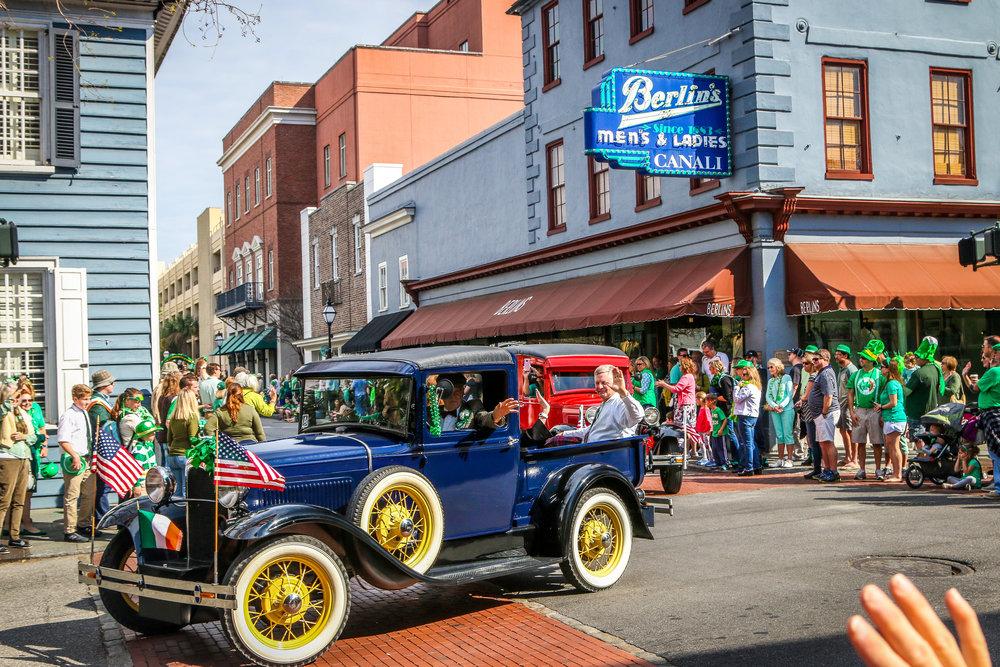 St. Patrick's Day in Charleston