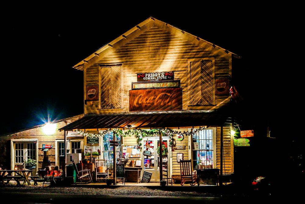 Priddy's in North Carolina