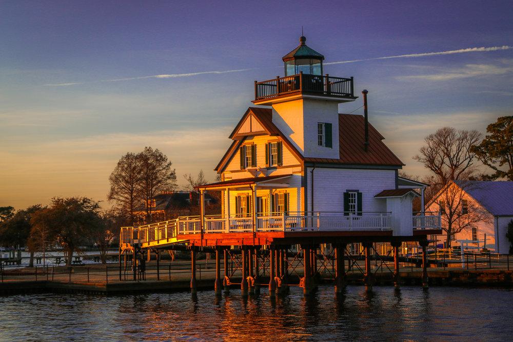 One of North Carolina's Beautiful Lighthouses
