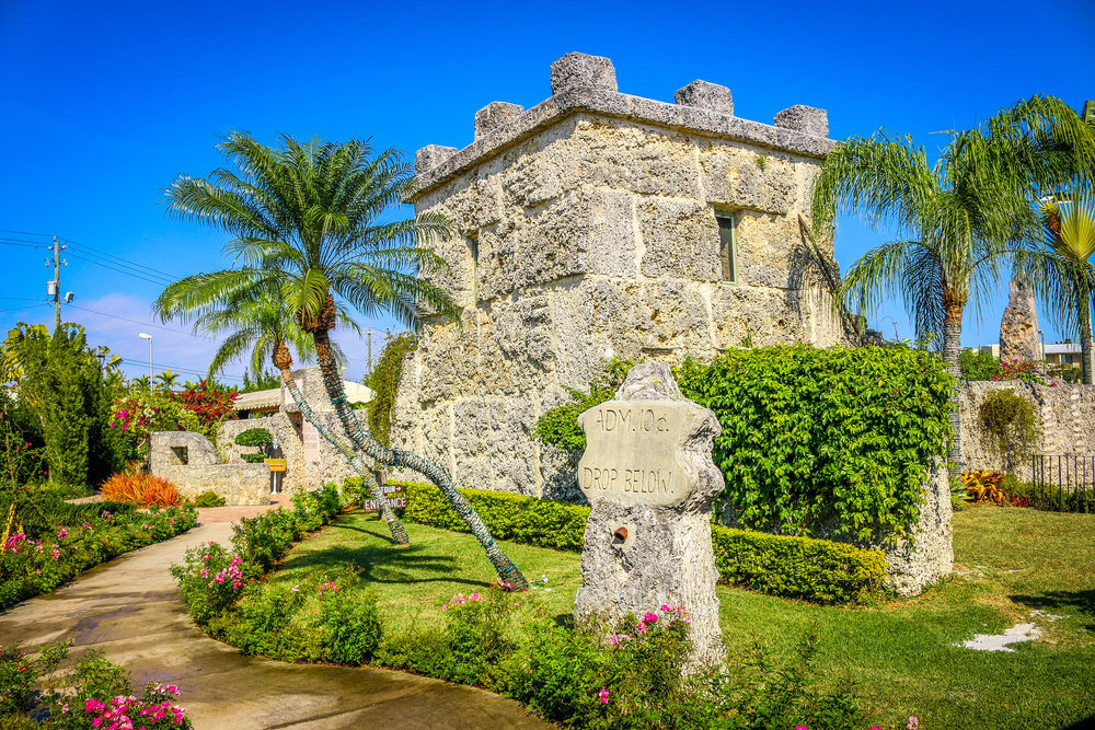 Coral Castle Homestead Florida