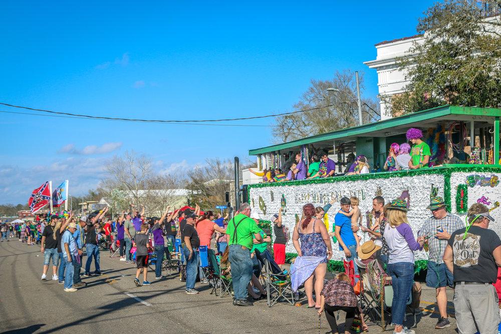 Krewe of Slidellians Mardi Gras Parade