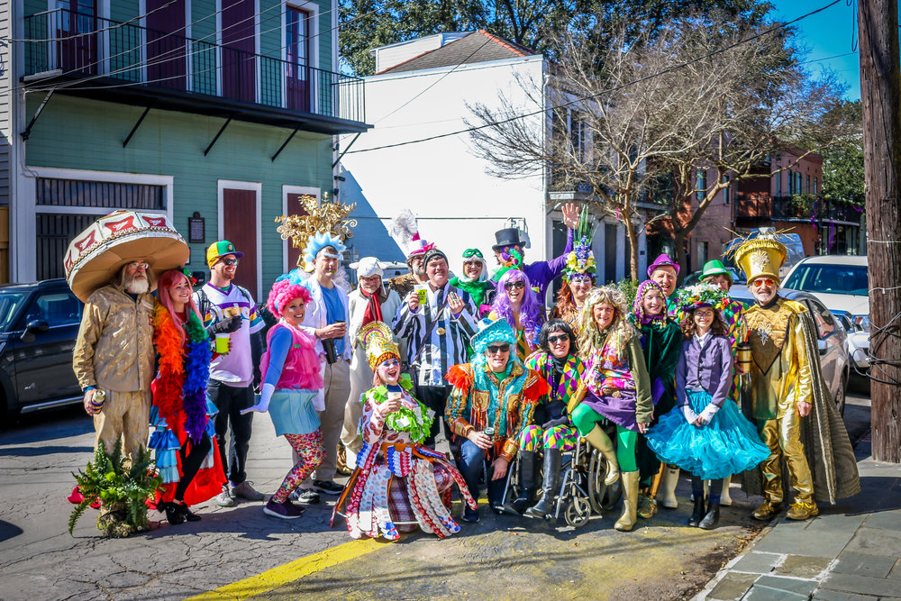 Our Mardi Gras Krewe