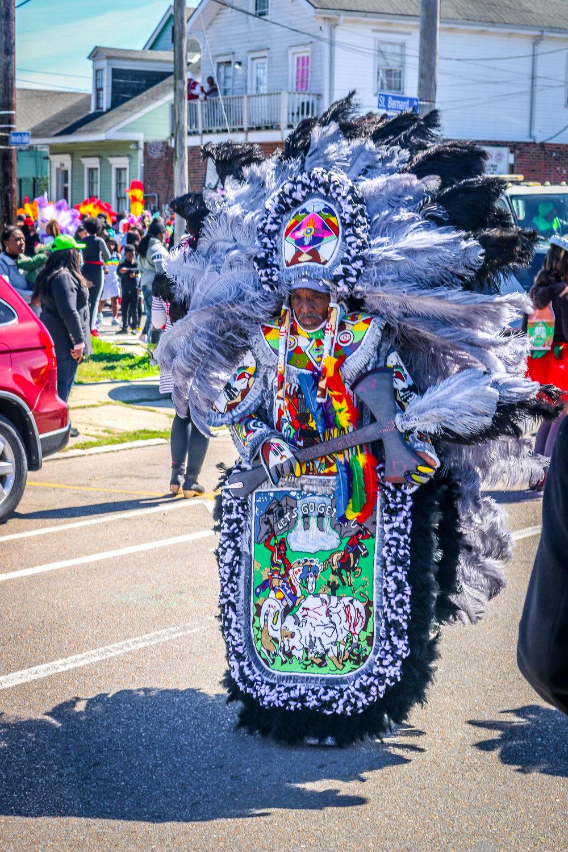 Mardi Gras Indians New Orleans Louisiana LA