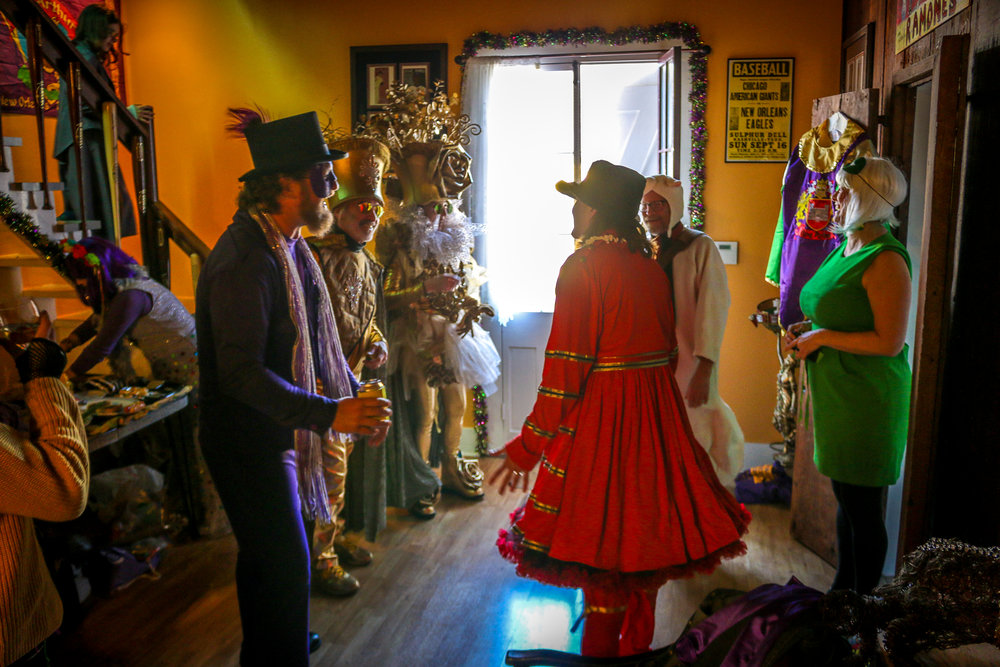 Mardi Gras Morning in the Bywater