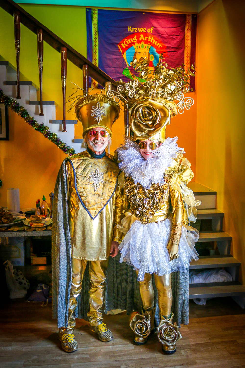Elaborate Costumes for 9 a.m.