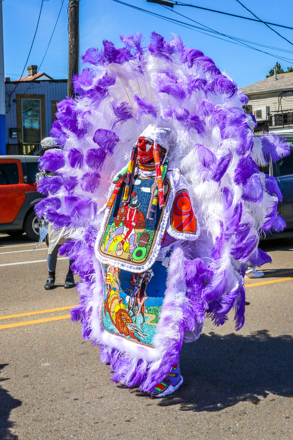 Mardi Gras Indians from Black Hatchet