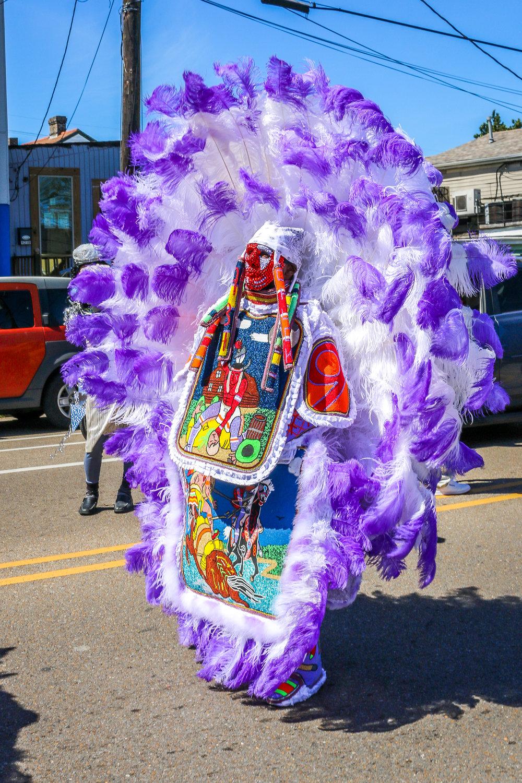 Mardi Gras Indians from Black Hatchet