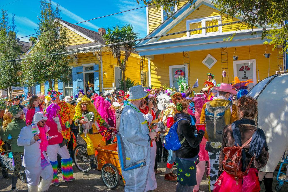 Mardi Gras Rambling