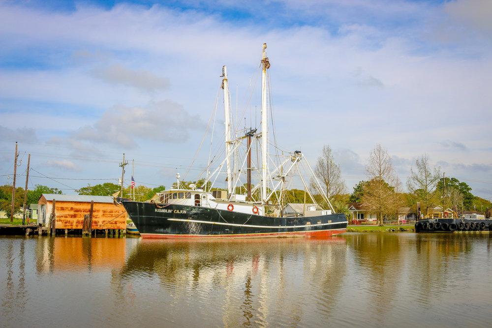 boats Louisiana Route 1 to Grand Isle Jefferson Parish