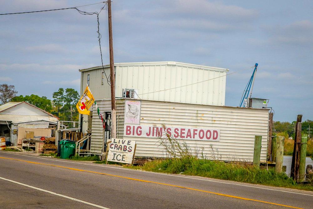 Louisiana Route 1 Fishing Shrimping Boat