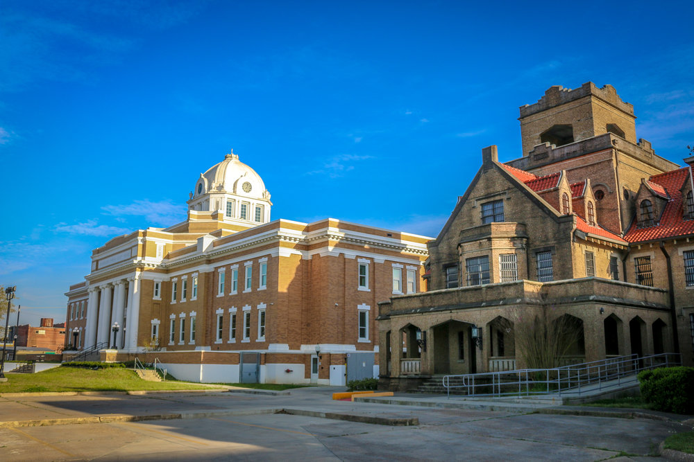 DeRidder COurthouse and Jail