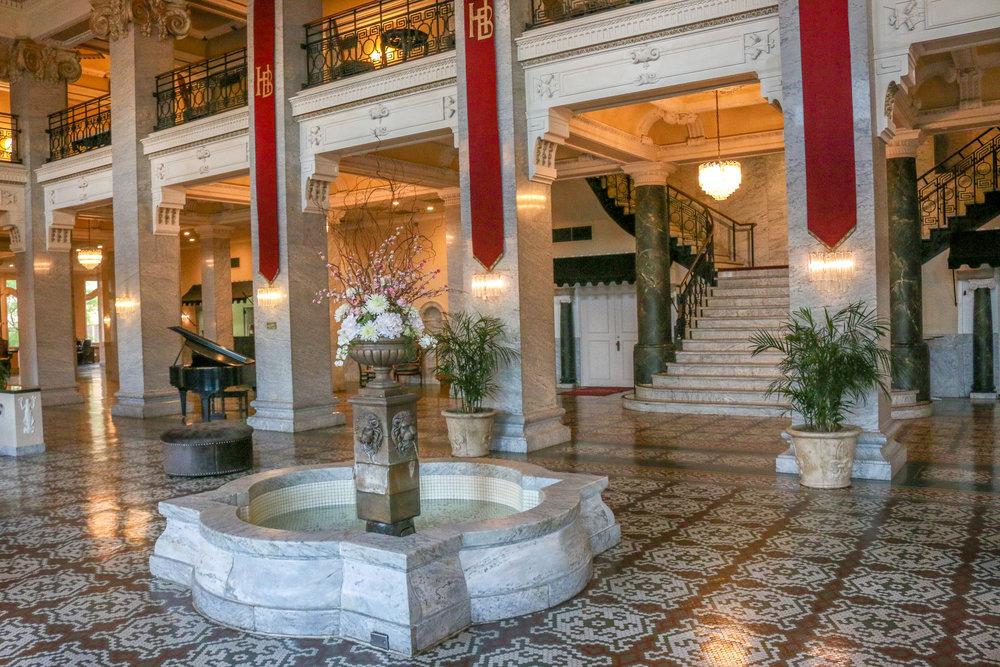 Inside the Bentley Hotel