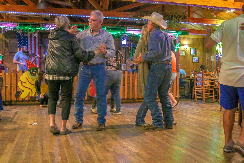 Dancing at D.I.'s