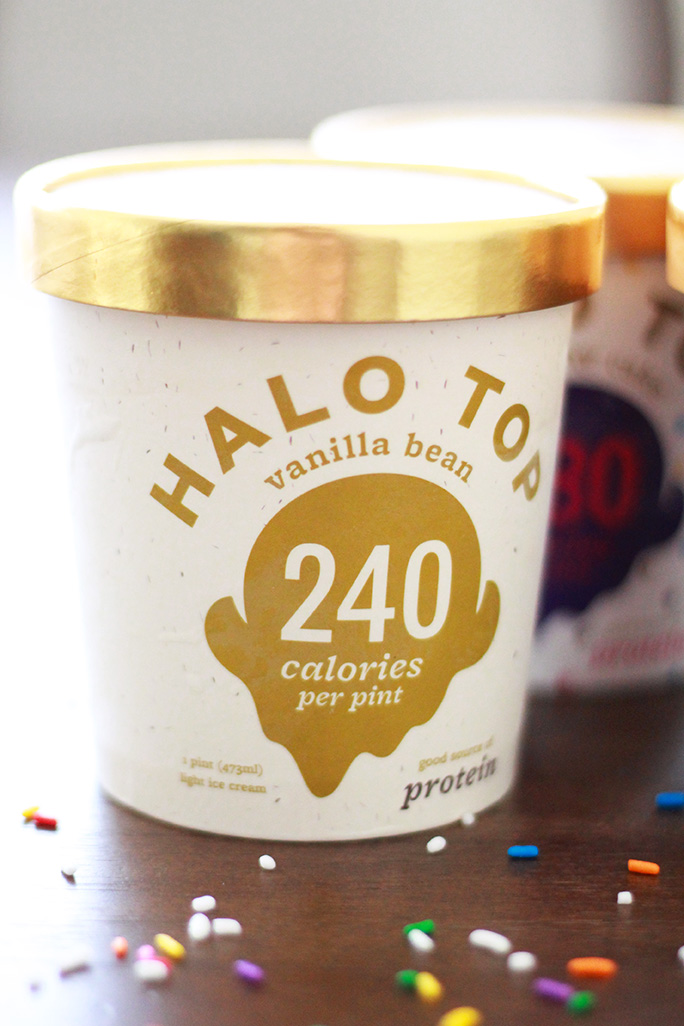 Halo Top all-natural protein packed ice cream review