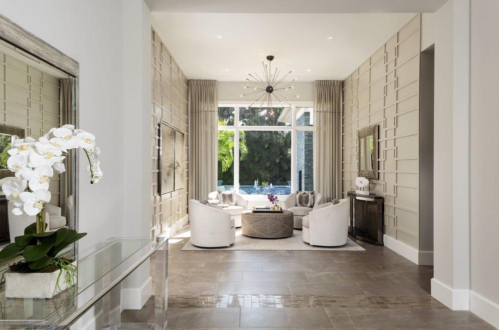 Soco Interiors Luxury Naples Design Beautiful Foyer
