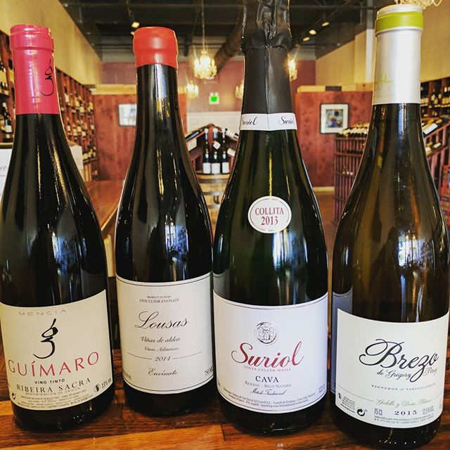 Our Friday tasting will be focused on wines imported by José Pastor Selections. - - -  #wine #spain #biodynamic #yes #mencia #bierzo #ribeirasacra #cava #free #magazinestreet