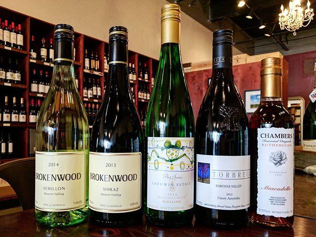 Our Australian tasting starts at 6pm! - - - #wine #neworleans #australia #downunder #magazinestreet #free