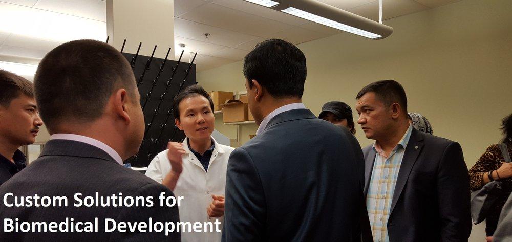 Custom Solutions for Biomedical Development