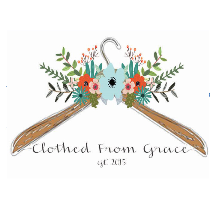 Clothed From Grace In-store, On-line and traveling clothing boutique! clothedfromgrace@gmail.com