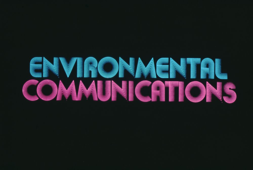 ENVIRONMENTAL COMMUNICATIONS