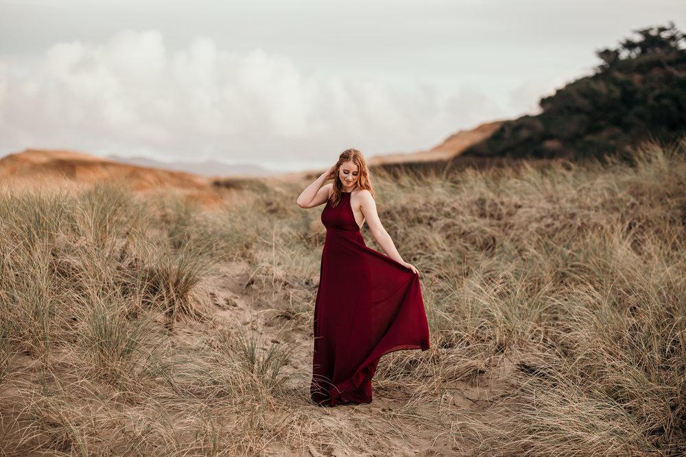 Oregon Coast Senior Photographer // Rustic Bloom Photography