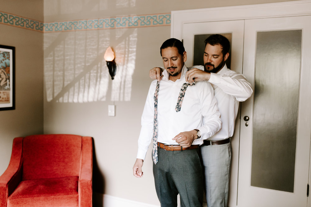 Rustic Bloom Photography // McMenamins Grand Lodge Wedding // Oregon Coast Wedding Photographer