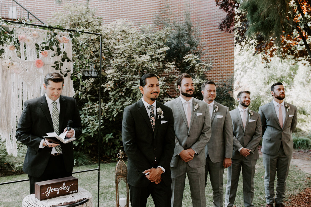 Rustic Bloom Photography |  McMenamins Grand Lodge | Ceremony Inspiration