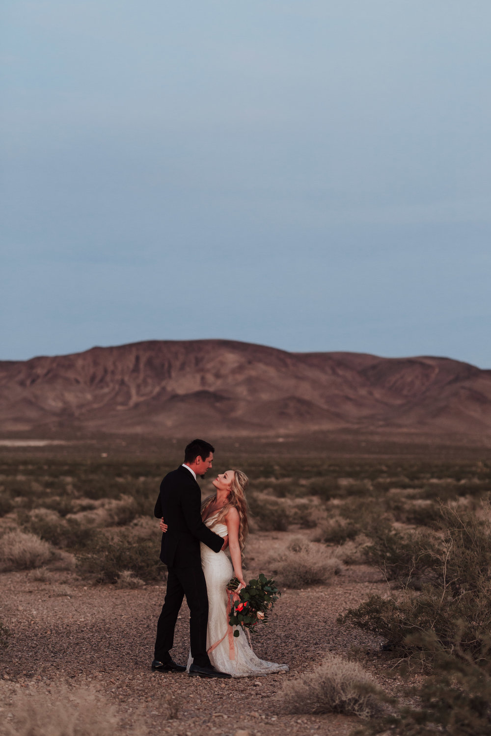 Rustic Bloom Photography | Las Vegas Desert Elopement