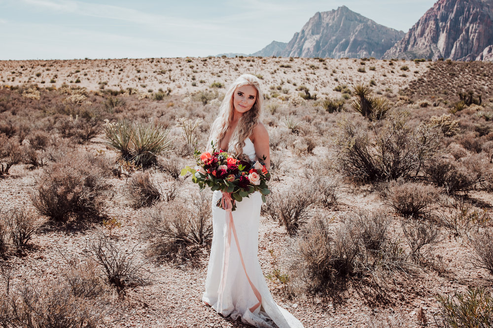 Rustic Bloom Photography | Desert Elopement Inspiration