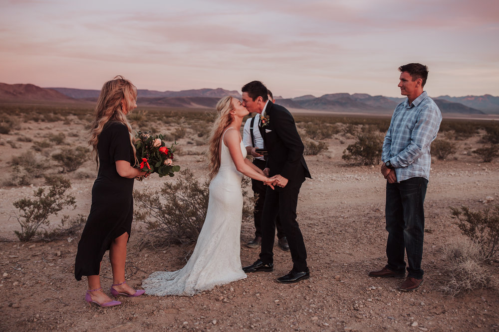 Rustic Bloom Photography | Las Vegas Desert Elopement Inspiration