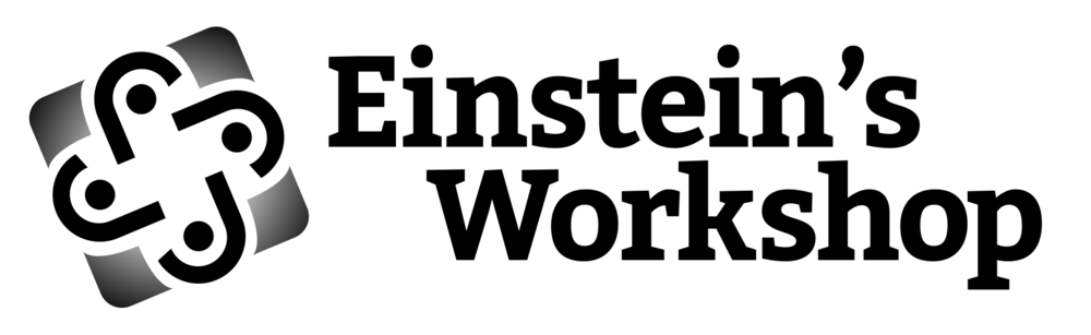Einsteins Workshop Logo B&W.png
