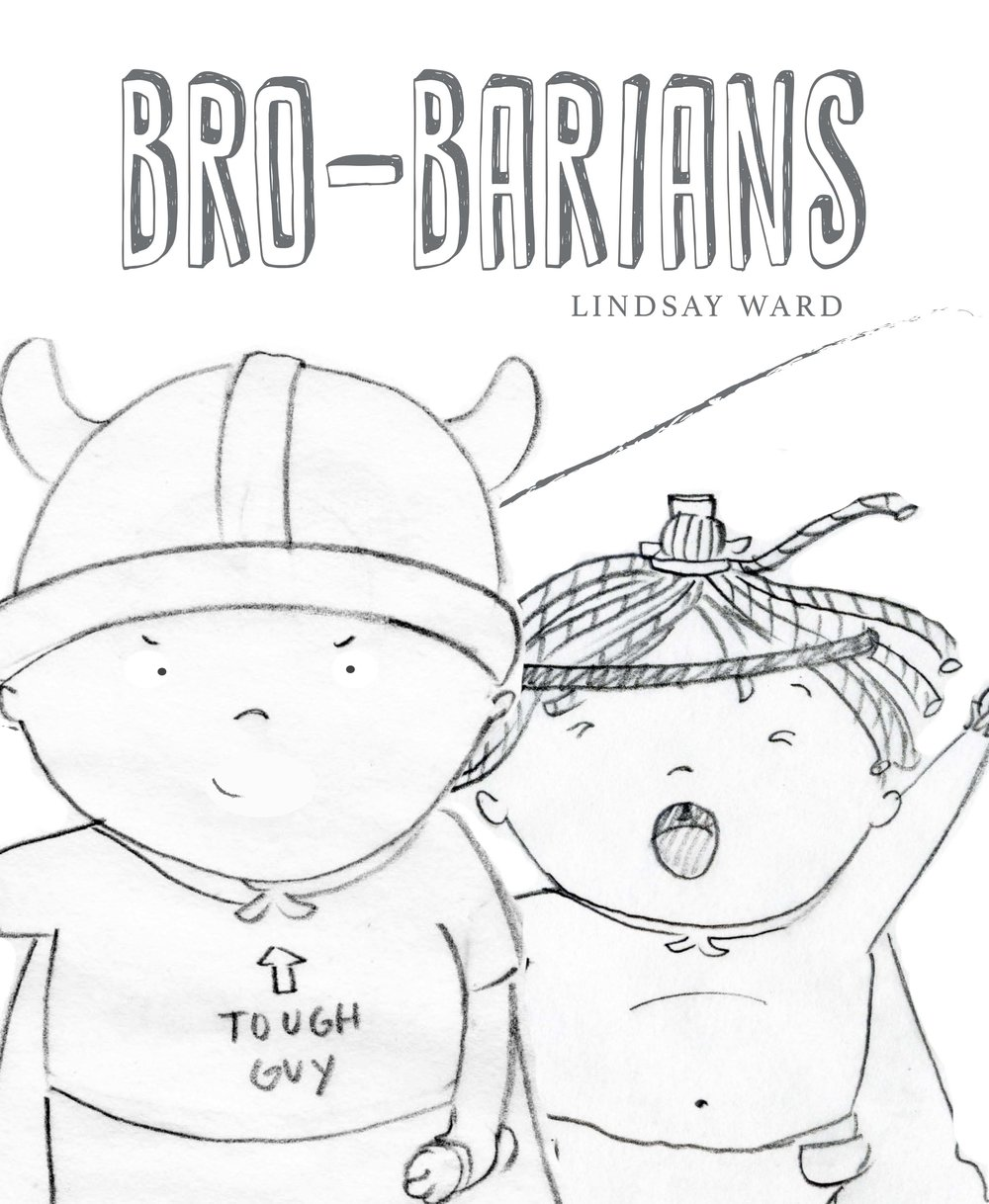 Brobarians  Cover Sketch 4