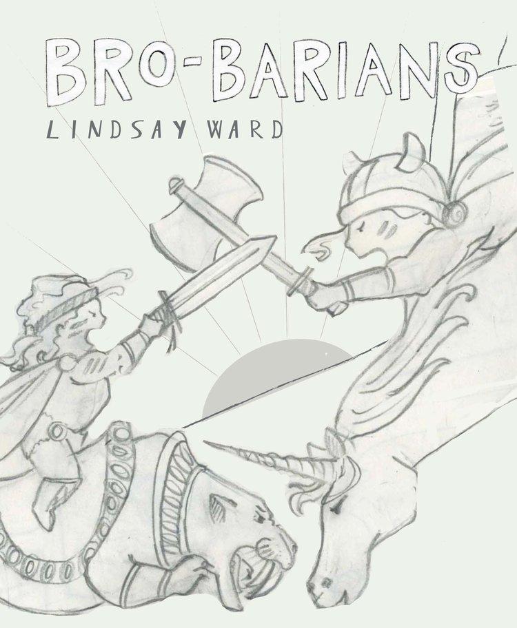 Brobarians Cover Sketch 5