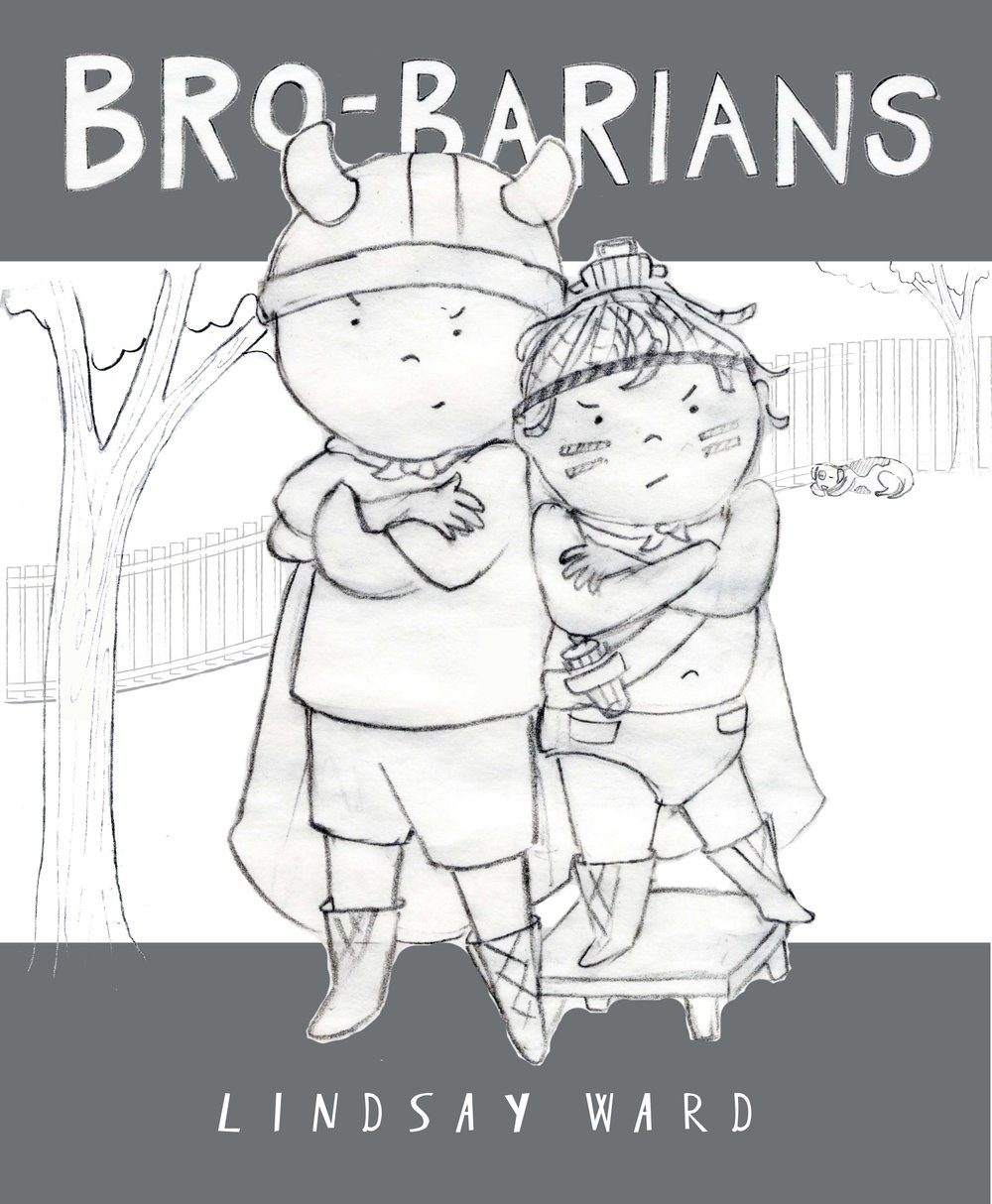 Brobarians  Cover Sketch 6