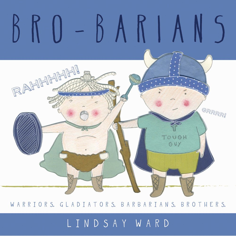 Brobarians  - Original Book Dummy Cover