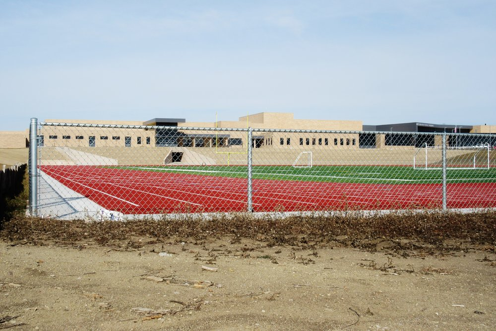 Industrial-galvanized-steel-chain-link-fencing-Wichita-KS-Southeast-High-School-USD259-67210