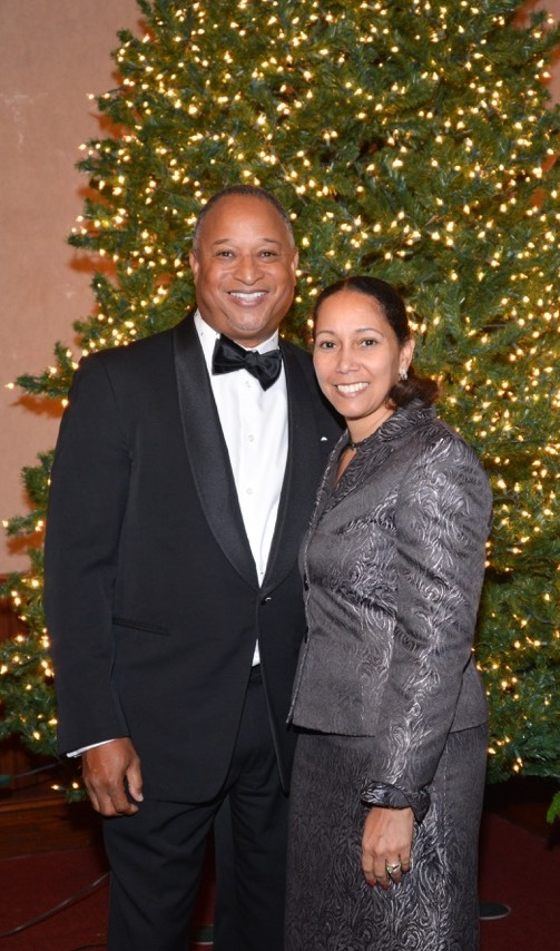 Dr. Stephen G. Peters andDr. Angela W. Peters   Founders of the Ladies and Gentlemen's Clubs -