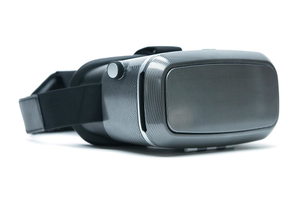 VR KIX-Carbon Fiber Print Mobile Virtual Reality Headset