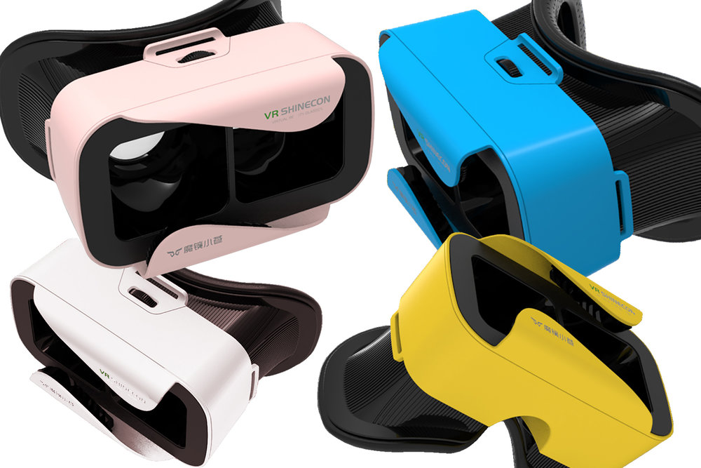 VR Shinecon Mini comes in four colors.