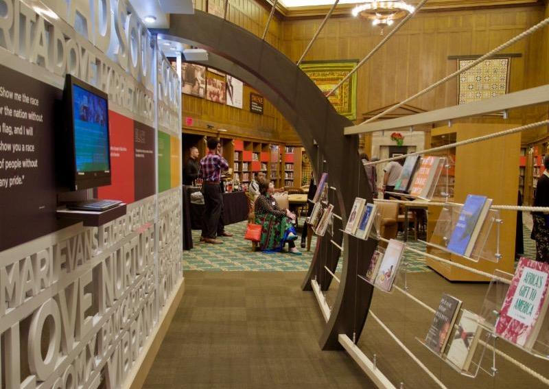 The Epicenter is the focal point of the Center for Black Literature & Culture at the IPL