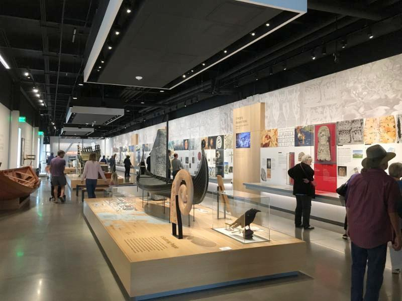 Virtually invisible ceiling-mounted AS-24i speakers deliver compelling narratives for visitors at the Nordic Museum