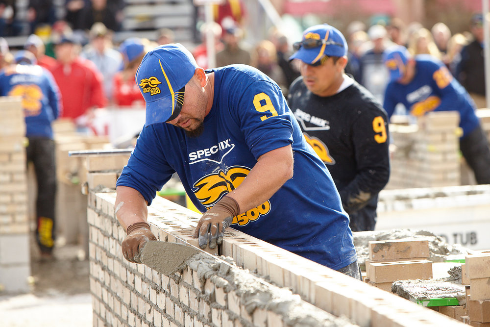 2018 Spec Mix Bricklayer 500® -